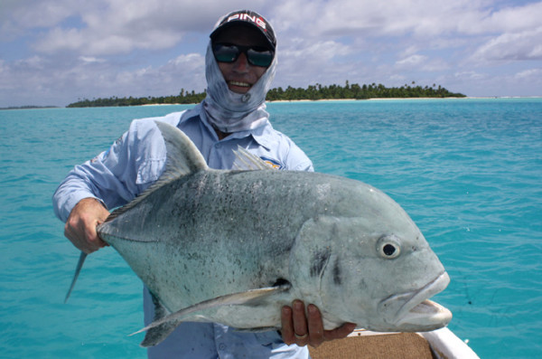 Fiske Aitutaki GT bonefish