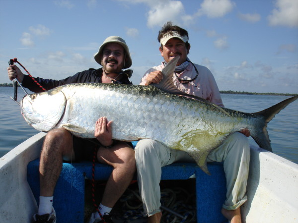 Fiske Holbox fiskere i båt